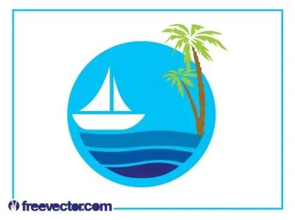 Sea Icon Free Vector