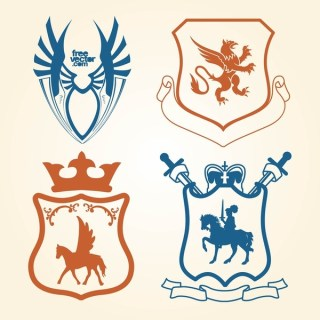 Shields Free Vector