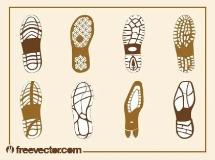 Shoe Soles Free Vector