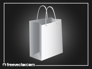 Shopping Bag Design Free Vector