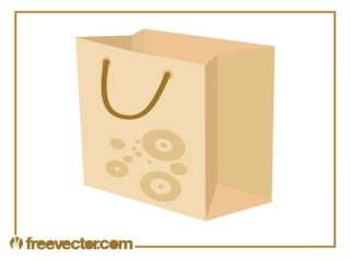 Shopping Bag Free Vector