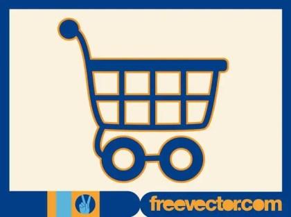Shopping Cart Icon Free Vector
