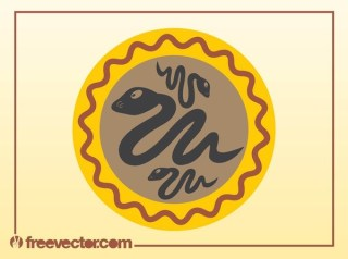 Snakes Icon Free Vector