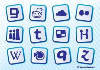 Social Media Logos Free Vector
