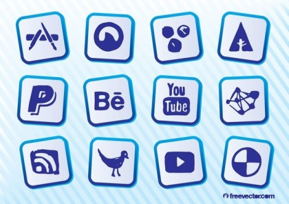Social Websites Free Vector