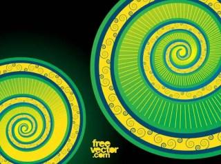 Spiral Swirls Free Vector