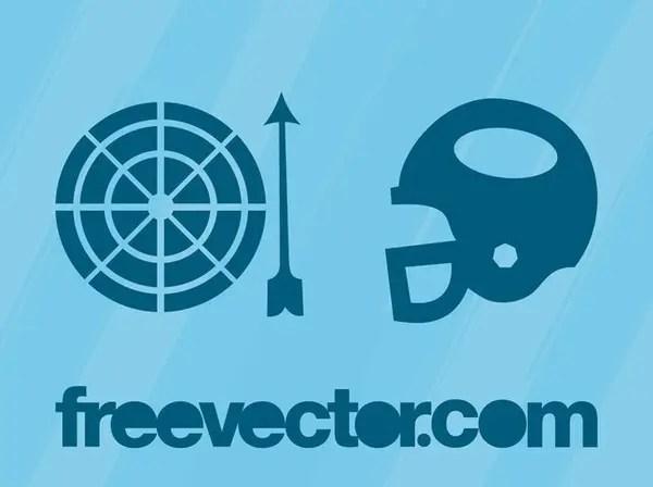 Sports Symbols Free Vector