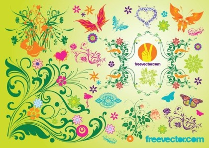 Spring s Free Vector