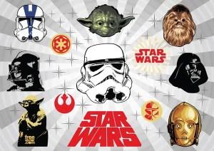 Star Wars s Free Vector