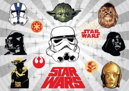 Star Wars s Free Vector