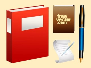 Stationery Free Vector