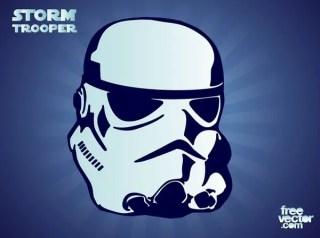Stormtrooper Free Vector