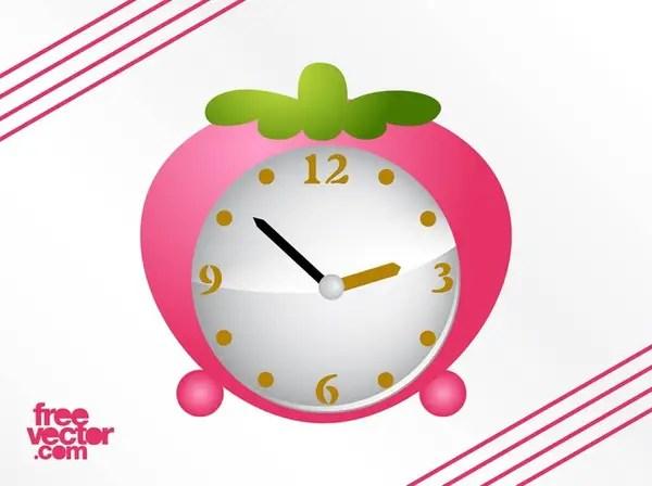 Strawberry Alarm Clock Free Vector