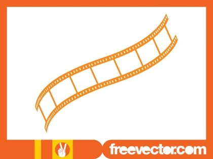 Strip of Film Free Vector