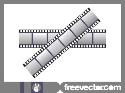 Strips of Film Free Vector