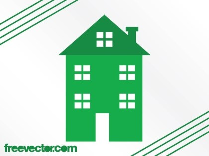 Stylized Home Free Vector