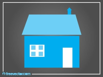 Stylized House Free Vector