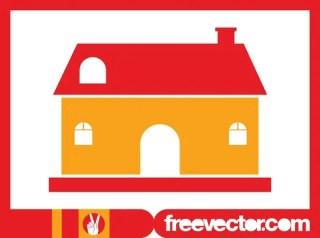 Stylized House Image Free Vector