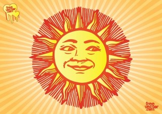 Sun Free Vector