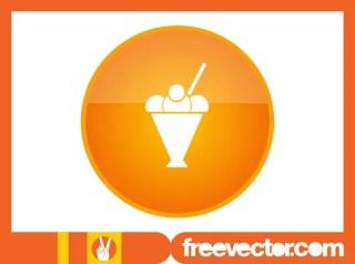 Sundae Icon Free Vector
