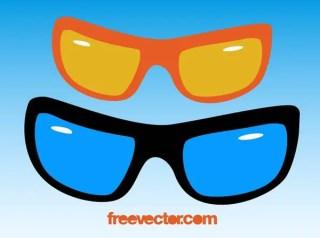 Sunglasses Clip Art Free Vector