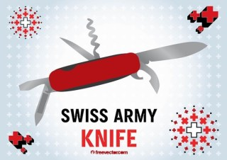 Swiss Army Knife Free Vector