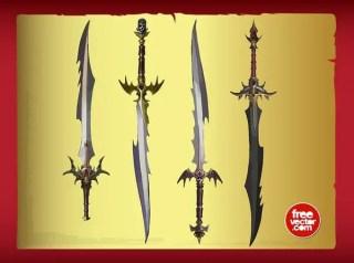 Swords Free Vector