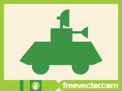 Tank Icon Free Vector