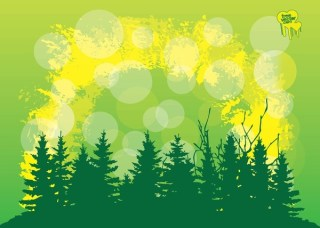 Trees Free Vector