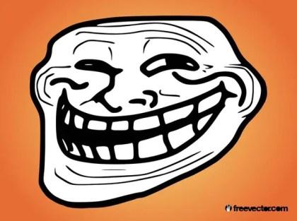 Troll Face Free Vector