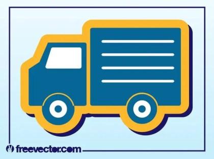 Truck Icon Free Vector