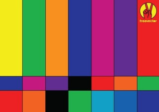 TV Background Free Vector