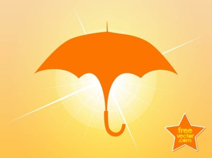 Umbrella Symbol Free Vector