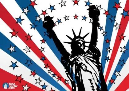 USA Liberty Free Vector