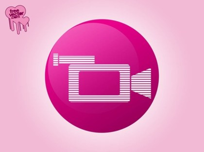 Video Camera Icon Free Vector