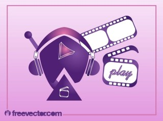 Video Character Free Vector