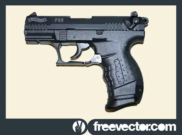 Walther P22 Gun Free Vector