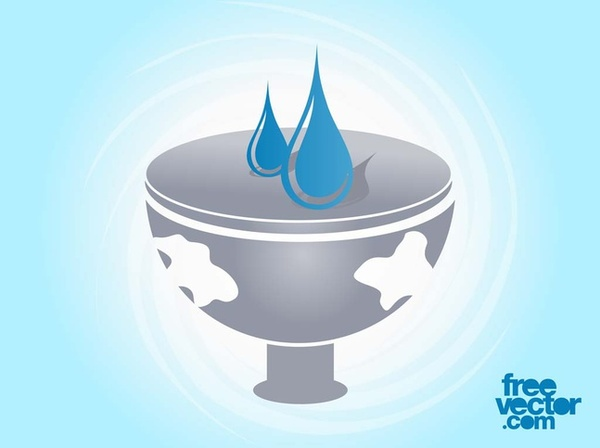 Water Icon Free Vector