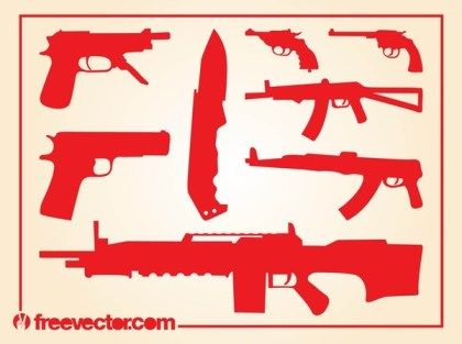 Weapons s Free Vector