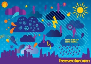 Weather Free Vector