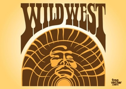 Wild West Free Vector