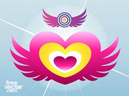 Wings Icons Free Vector