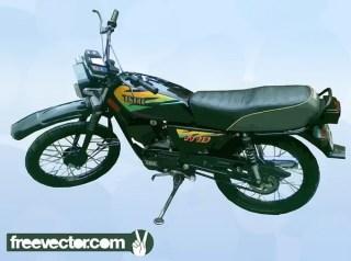 Yamaha Motorcycle Free Vector