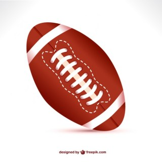 American Football Ball Free Download Free Vector