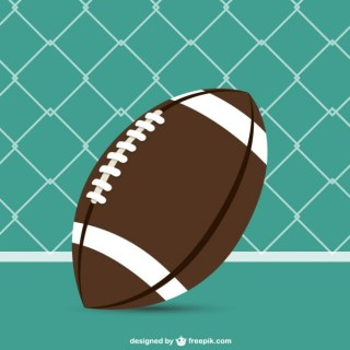 American Football Free Template Free Vector