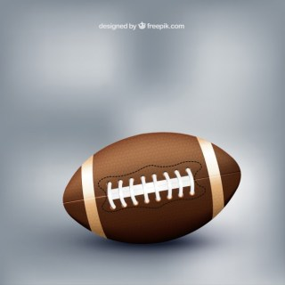 American Football Sports Ball Free Vector