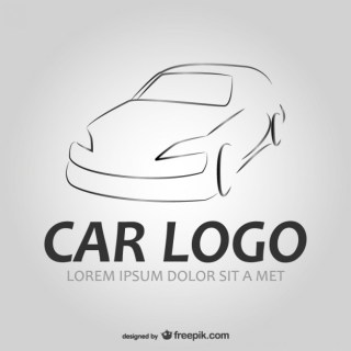 Auto Car Logo Free Vector