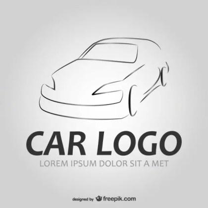 Auto Car Logo Free Vector