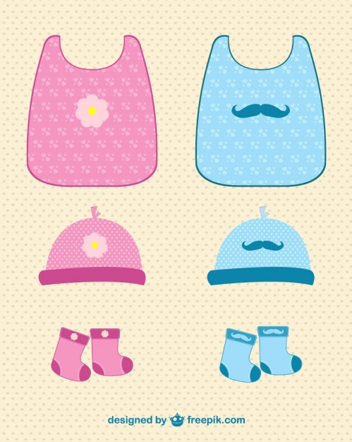 Baby Clothes Free Vector