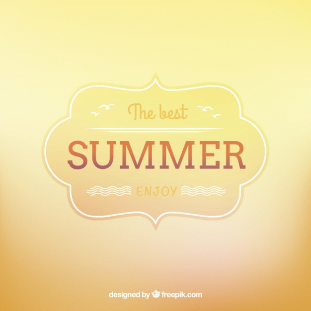 Background for Summer Free Vector